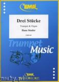 Okładka: Studer Hans, Drei Stücke - Trumpet