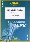 Ok�adka: Boehme Oskar, 24 Melodic Studies - Euphonium
