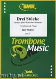 Ok�adka: Stuhec Igor, 3 St�cke - Trombone