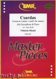 Ok�adka: Monti Vittorio, Csardas (version in C minor) - Saxophone