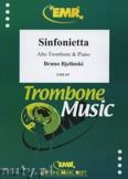 Ok�adka: Bjelinski Bruno, Sinfonietta - Trombone