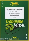 Okładka: Dvarionas Balys, Thema & Variationen - Trombone