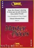 Okładka: Bach Johann Sebastian, Jesu, meine Freude - Saxophone