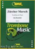 Okładka: Koetsier Jan, Zürcher Marsch Variationen - Trombone