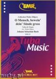 Ok�adka: Bach Johann Sebastian, O Mensch, bewein' dein S�nde gross - Tuba