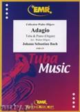 Okładka: Bach Johann Sebastian, Adagio  - Tuba