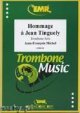Okładka: Michel Jean-François, Hommage a Jean Tinguely - Trombone
