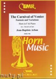 Okładka: Arban Joseph Jean Baptiste, The Carnival of Venice - Horn