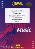 Ok�adka: Faur� Gabriel, Pavane (Fl�te,Tuba,Cello,Klavier) - Tuba