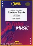 Okładka: Albéniz Isaac, Cantos de Espana