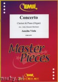 Okładka: Viola Anselm, Concerto - CLARINET
