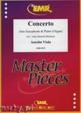 Okładka: Viola Anselm, Concerto - Saxophone