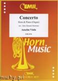 Ok�adka: Viola Anselm, Concerto - Horn