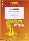 Okładka: Viola Anselm, Concerto - Horn