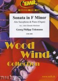Ok�adka: Telemann Georg Philipp, Sonata in F minor - Saxophone