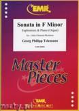 Okładka: Telemann Georg Philipp, Sonata in F minor - Euphonium