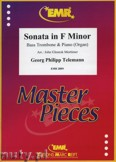 Ok�adka: Telemann Georg Philipp, Sonata in f-moll - Trombone