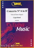 Ok�adka: Bond Capel, Concerto N� 6 in B - Tuba