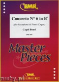 Ok�adka: Bond Capel, Concerto Nr. 6 in Bb - Saxophone