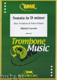 Ok�adka: Corrette Michel, Sonata in D minor - Trombone