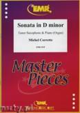 Okładka: Corrette Michel, Sonata in D minor - Saxophone