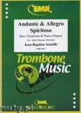 Ok�adka: Senaille Jean-Baptiste, Andante & Allegro Spiritoso - Trombone