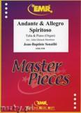 Ok�adka: Senaille Jean-Baptiste, Andante & Allegro Spiritoso - Tuba