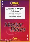 Okładka: Senaille Jean-Baptiste, Andante & Allegro Spiritoso - BASSOON