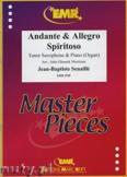 Ok�adka: Senaille Jean-Baptiste, Andante & Allegro Spiritoso - Saxophone