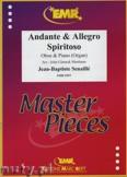 Ok�adka: Senaille Jean-Baptiste, Andante & Allegro Spiritoso - Oboe