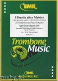 Okładka: Sturzenegger Kurt, 5 Duette Alter Meister - Trombone