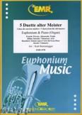 Okładka: Sturzenegger Kurt, 5 Duette alter Meister - Euphonium