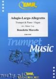 Okładka: Marcello Benedetto, Adagio - Largo - Allegretto - Trumpet