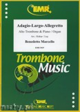 Ok�adka: Marcello Benedetto, Adagio - Largo - Allegretto - Trombone