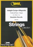Ok�adka: Marcello Benedetto, Adagio - Largo - Allegretto - Orchestra & Strings