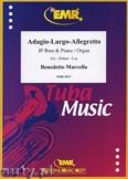Okładka: Marcello Benedetto, Adagio - Largo - Allegretto - Tuba