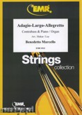 Okładka: Marcello Benedetto, Adagio - Largo - Allegretto - Orchestra & Strings