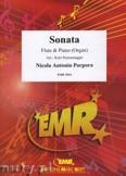Okładka: Porpora Nicola Antonio, Sonate F-Dur  - Flute