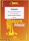 Okładka: Porpora Nicola Antonio, Sonate F-Dur  - Horn