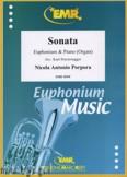 Okładka: Porpora Nicola Antonio, Sonate F-Dur  - Euphonium