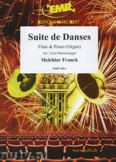 Ok�adka: Franck Melchior, Suite de Danses  - Flute