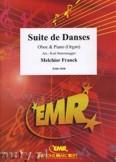 Okładka: Franck Melchior, Suite de Danses  - Oboe