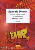Ok�adka: Franck Melchior, Suite de Danses - BASSOON