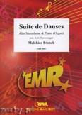Okładka: Franck Melchior, Suite de Danses  - Saxophone