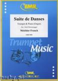 Ok�adka: Franck Melchior, Suite de Danses - Trumpet