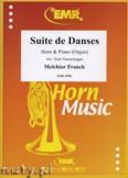 Okładka: Franck Melchior, Suite de Danses - Horn