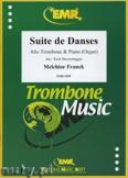Okładka: Franck Melchior, Suite de Danses - Trombone
