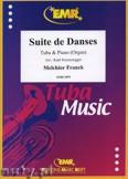 Okładka: Franck Melchior, Suite de Danses - Tuba