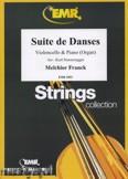 Okładka: Franck Melchior, Suite de Danses  - Orchestra & Strings