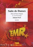 Ok�adka: Pezel Johann Christoph, Suite de Danses  - Oboe